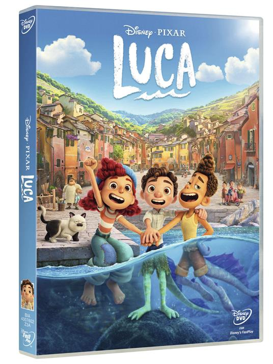 Luca (DVD) di Enrico Casarosa - DVD - 3
