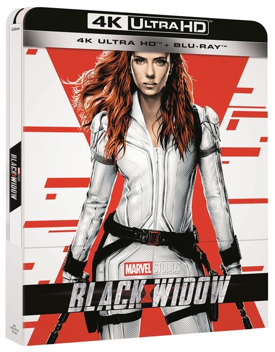 Black Widow. Con Steelbook (Blu-ray + Blu-ray Ultra HD 4K) di Cate Shortland - Blu-ray + Blu-ray Ultra HD 4K - 4
