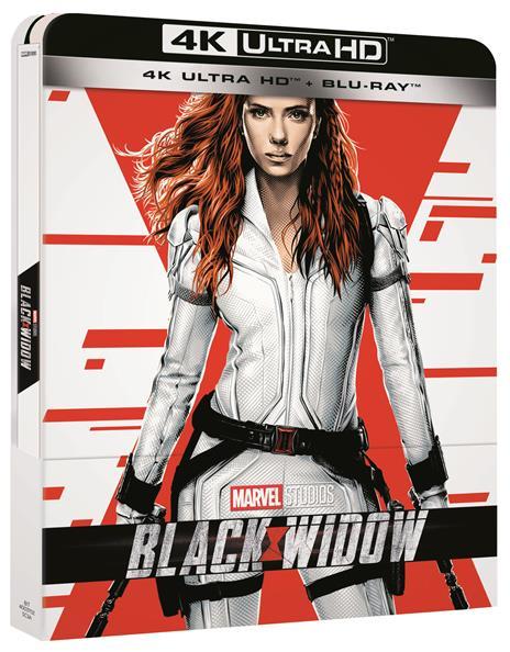 Black Widow. Con Steelbook (Blu-ray + Blu-ray Ultra HD 4K) di Cate Shortland - Blu-ray + Blu-ray Ultra HD 4K