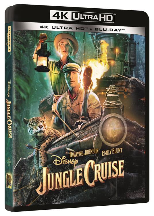 Jungle Cruise (Blu-ray + Blu-ray Ultra HD 4K) di Jaume Collet-Serra - Blu-ray + Blu-ray Ultra HD 4K
