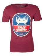 T-Shirt Unisex Tg. L Space Invaders: Round Invader Red