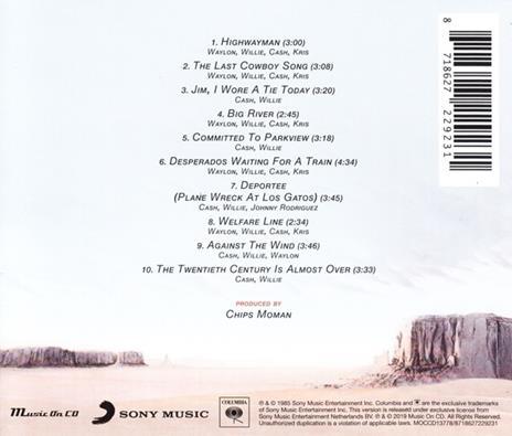 Highwayman - CD Audio di Johnny Cash,Willie Nelson,Waylon Jennings,Kris Kristofferson - 2