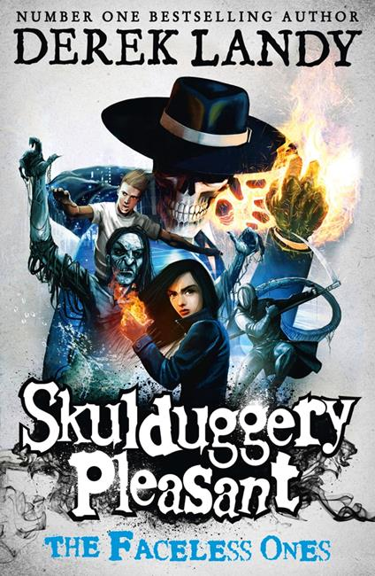 Faceless Ones (Skulduggery Pleasant, Book 3)