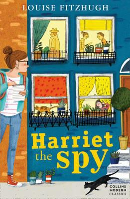 Harriet the Spy - Louise Fitzhugh - cover
