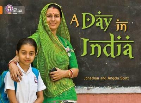 A Day in India: Band 06/Orange - Jonathan Scott,Angela Scott - cover