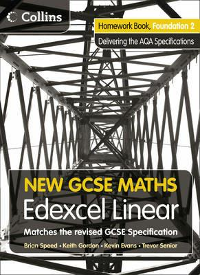 Homework Book Foundation 2: Edexcel Linear (A) - cover