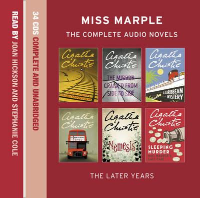 The Complete Miss Marple: Volume 2 - the Later Years - Agatha Christie - cover