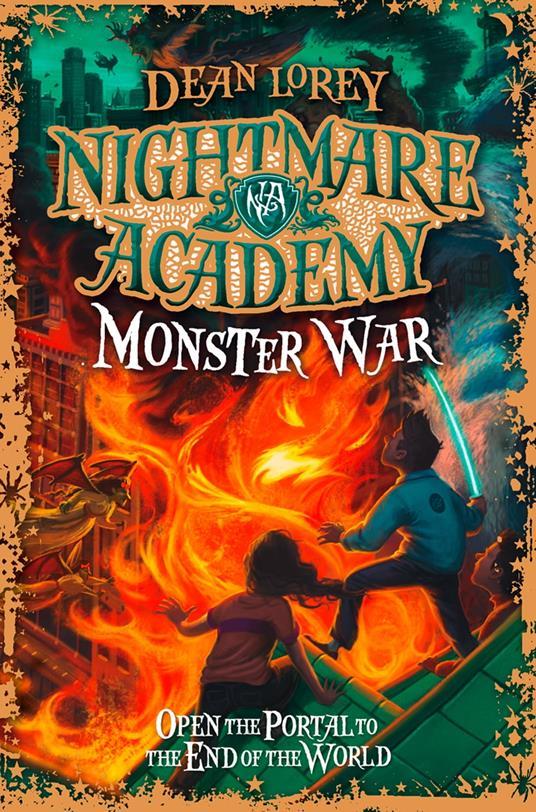 Monster War (Nightmare Academy, Book 3)