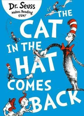 The Cat in the Hat Comes Back - Dr. Seuss - cover