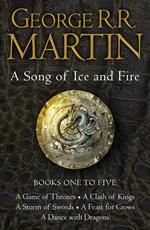 Game of Thrones: The Story Continues Books 1-5: A Game of Thrones, A Clash of Kings, A Storm of Swords, A Feast for Crows, A Dance with Dragons (A Song of Ice and Fire)
