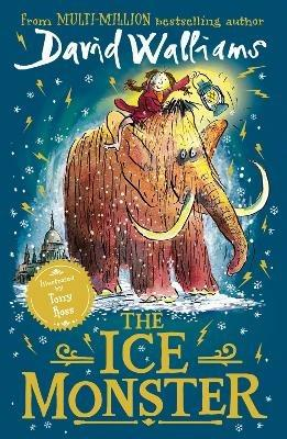 The Ice Monster - David Walliams - cover