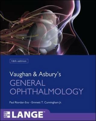 Vaughan & Asbury's general ophthalmology - Paul Riordan Eva,Emmet T. Cunningham - copertina