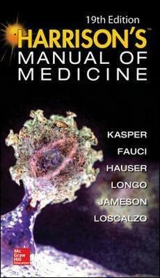 Harrison's manual of medicine - copertina
