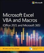 Microsoft Excel 365 VBA and Macros