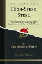 High-Speed Steel