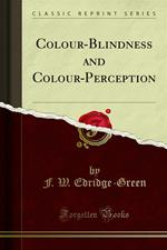 Colour-Blindness and Colour-Perception