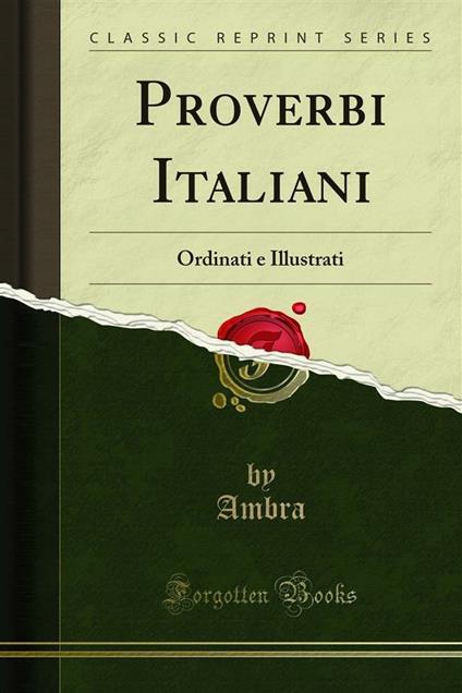 Proverbi Italiani - Ambra - ebook