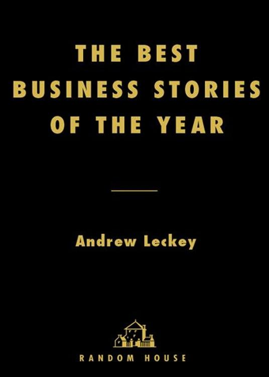Best Business Stories of the Year: 2002 Edition