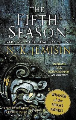 The Fifth Season: The Broken Earth, Book 1, WINNER OF THE HUGO AWARD - N. K. Jemisin - cover