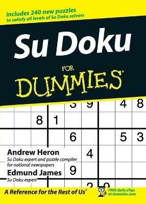 Su Doku for Dummies - Andrew Heron,Edmund James - cover
