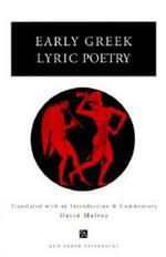 Early Greek Lyric Poetry