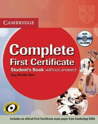 Complete first certificate. Student's book. Per le Scuole superiori. Con CD-ROM - Guy Brook-Hart - copertina