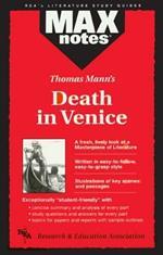 MAXnotes Literature Guides: Death in Venice