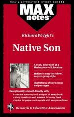 MAXnotes Literature Guides: Native Son