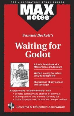 MAXnotes Literature Guides: Waiting for Godot - ,Rita Wilensky - cover