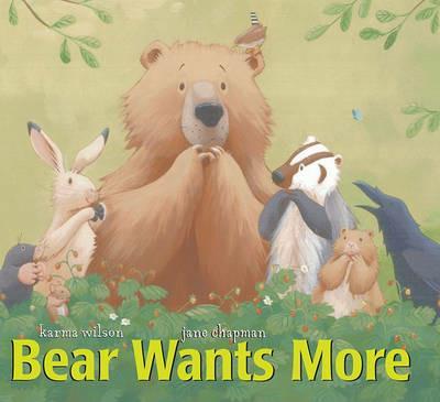 Bear Wants More - Chapman - cover