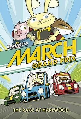 Race at Harewood - Kean Soo - cover