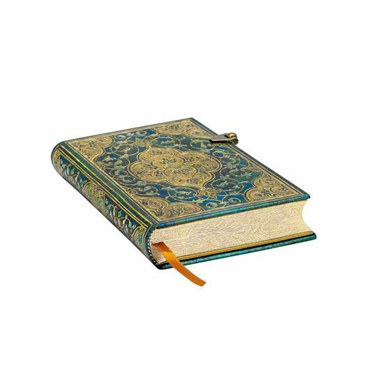 Taccuino Paperblanks copertina rigida Mini a righe Cronache turchesi - 9,5x14 - 2