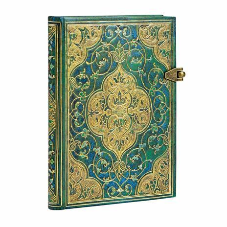 Taccuino Paperblanks copertina rigida Mini a righe Cronache turchesi - 9,5x14 - 3
