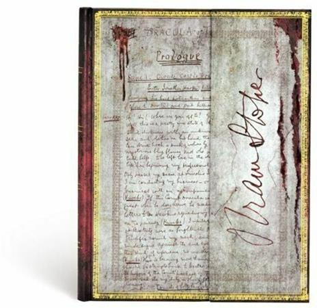 Taccuino notebook Paperblanks Bram Stoker, Dracula ultra a pagine bianche