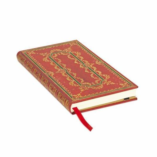 Taccuino notebook Paperblanks Fior di ferro slanciato a righe - 2