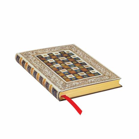 Taccuino Paperblanks copertina morbida Mini a pagine bianche Aureo - 9,5x14 - 2