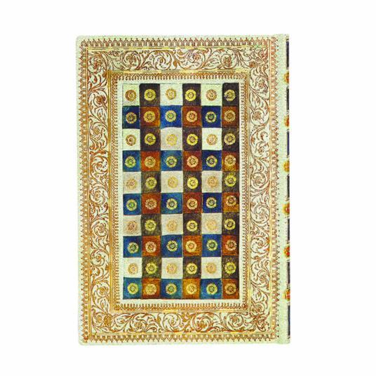 Taccuino Paperblanks copertina morbida Mini a pagine bianche Aureo - 9,5x14 - 4