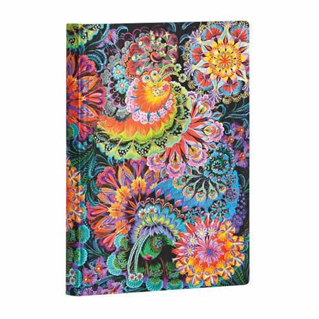 Taccuino Paperblanks copertina morbida Mini a righe Chiaro di Luna - 95 × 14 cm - 3