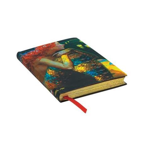 Taccuino Paperblanks copertina morbida Mini a righe Anticipazione - 95 × 14 cm - 2