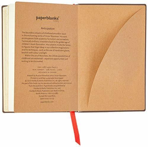 Taccuino Paperblanks copertina morbida Mini a righe Anticipazione - 95 × 14 cm - 5