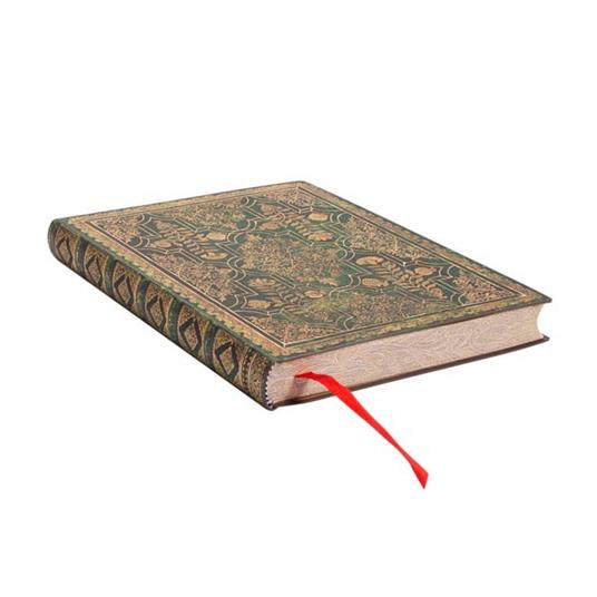 Taccuino Paperblanks copertina morbida Midi a pagine bianche Ginepro - 13 x 18 cm - 2