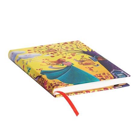 Taccuino Paperblanks copertina rigida Midi a righe Fogliame Autunnale - 13 x 18 cm - 2