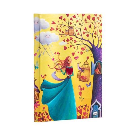 Taccuino Paperblanks copertina rigida Midi a righe Fogliame Autunnale - 13 x 18 cm - 3