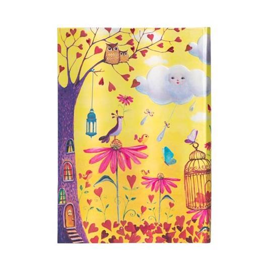 Taccuino Paperblanks copertina rigida Midi a righe Fogliame Autunnale - 13 x 18 cm - 4