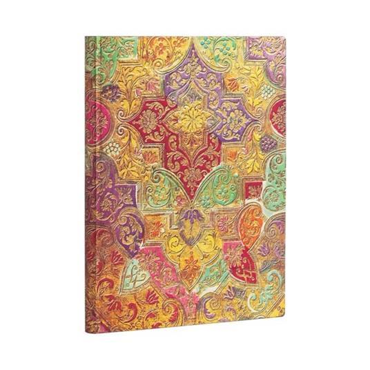 Taccuino Paperblanks copertina morbida Ultra a righe Fiore Selvatico Bavarese - 18 x 23 cm - 3