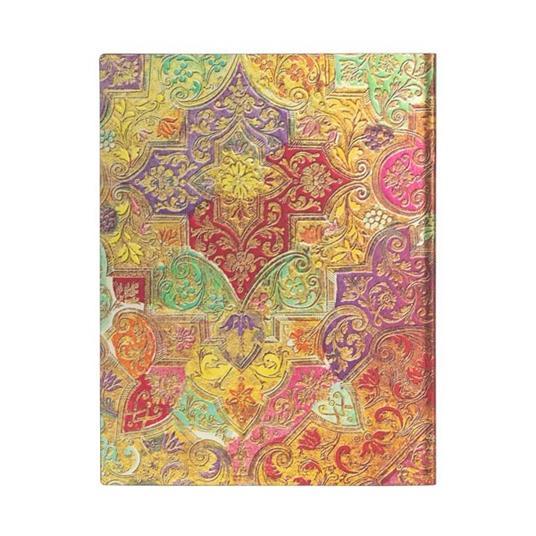 Taccuino Paperblanks copertina morbida Ultra a righe Fiore Selvatico Bavarese - 18 x 23 cm - 4