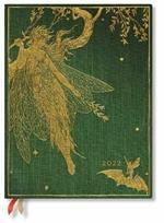 Agenda 2022 Paperblanks, 12 Mesi, La Fata Oliva, Ultra, Giornaliera, I Libri delle FatediLang - 18 x 23 cm