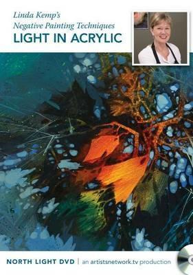 Linda Kemp's Negative Painting Techniques - Light in Acrylic - ,Linda Kemp - cover