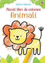 Animali. Piccoli libri da colorare. Ediz. a colori