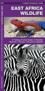 East Africa Wildlife: A Folding Pocket Guide to Familiar Species in Kenya, Tanzania & Uganda